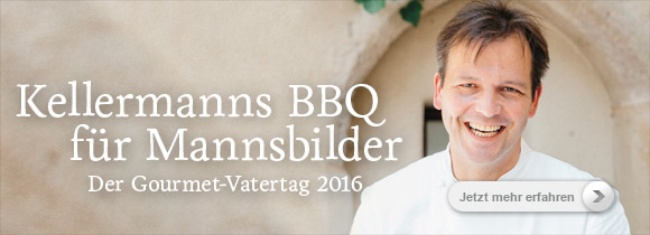 "Thomas Kellermann, Zweisternekoch, Gourmetrestaurant ""Kastell"", Burg Wernberg"