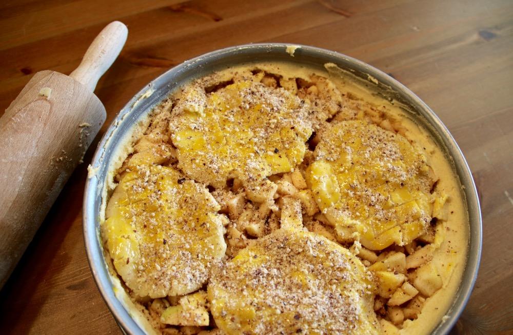 süßer boden für apfelkuchen
