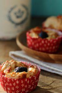 Oliven-Schafskäse-Tomaten-Muffins