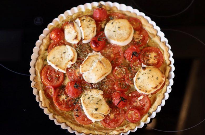 Tomaten Ziegenkaese Tarte