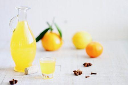 Mandarinen-Zitronen-Likör